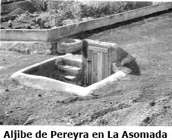 Aljibe de Pereyra-Asomada